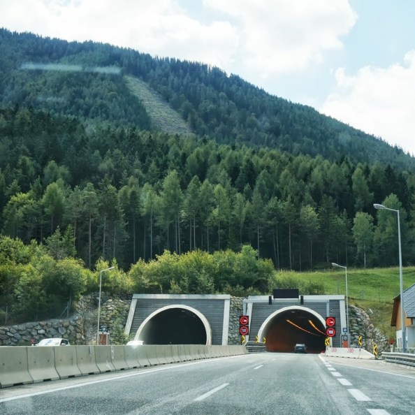 mountain tunnel