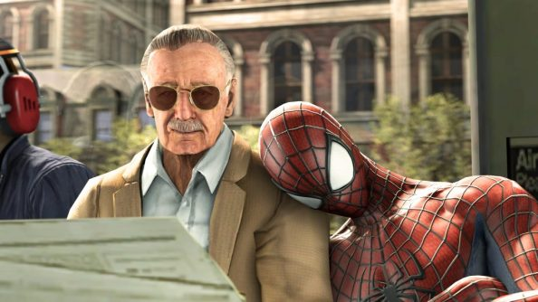 Stan Lee and Spider man 1024x576 Stan Lee and Spider man