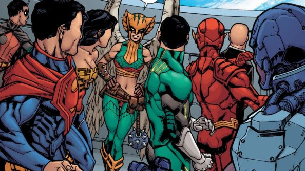 hawkgirl has something to say 1024x576 hawkgirl has something to say