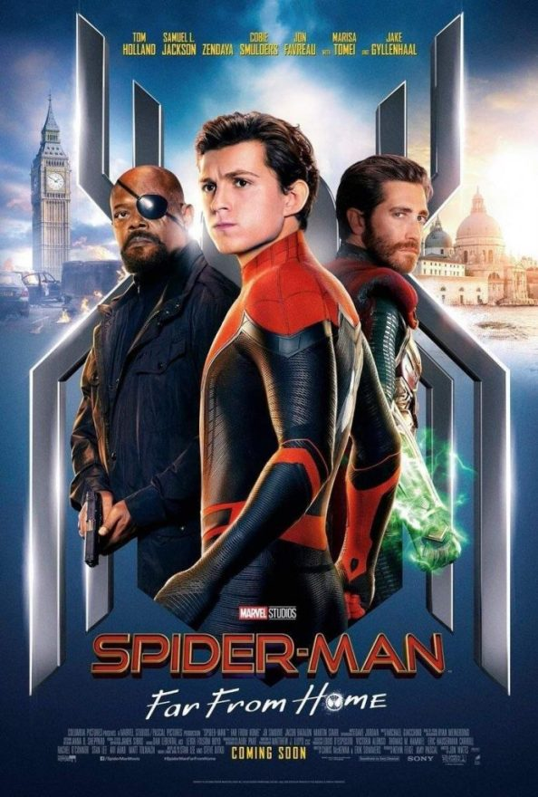 Spider man Far From Home Movie Poster 691x1024 Spider man Far From Home Movie Poster