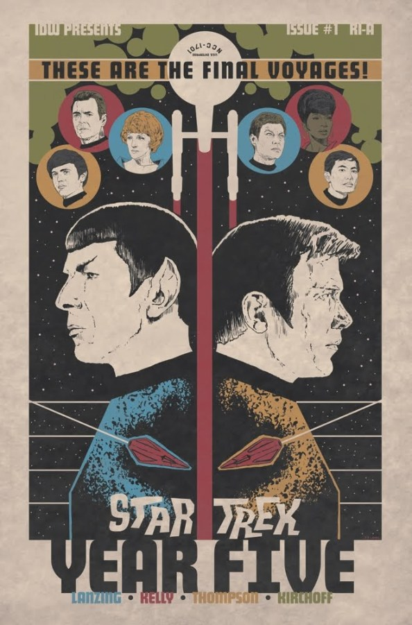 Star Trek Year Five #1 Retailer Incentive Cover