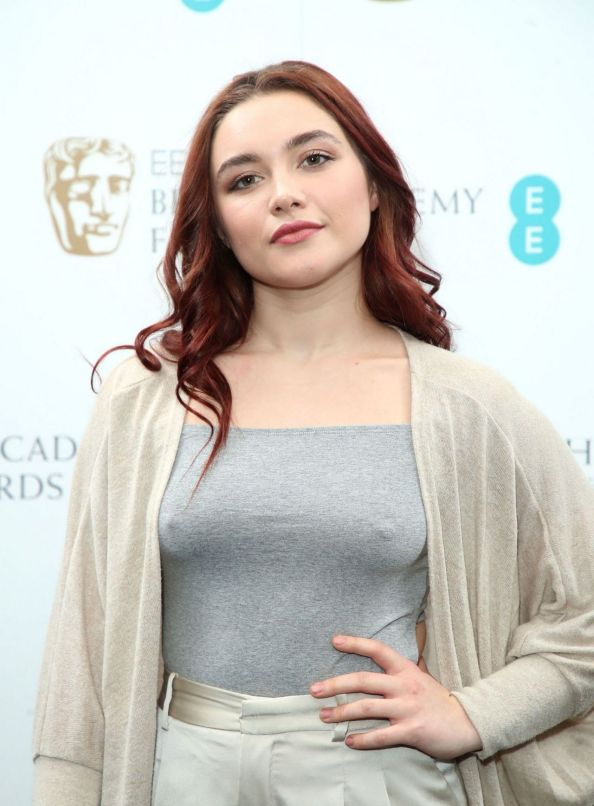 Florence Pugh showing off her nipples
