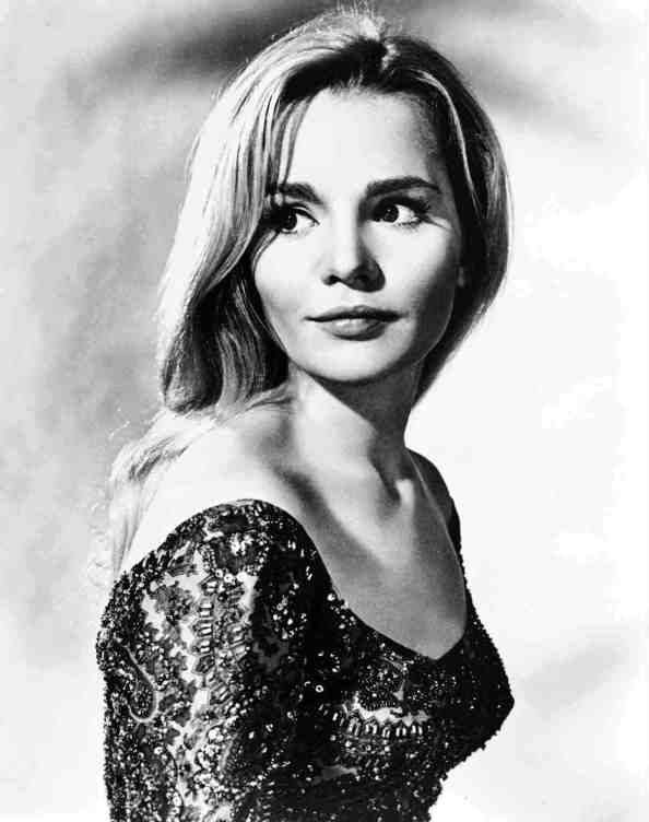 tuesday weld in a low cut top