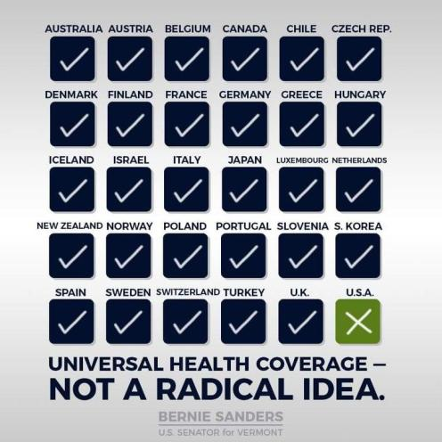 Universal Health Coverage – Not A Radical Idea
