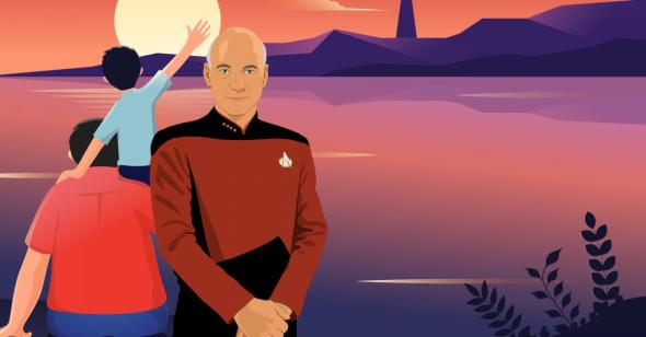 Jean-Luc Picard Was the Father Figure I Needed