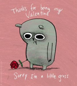 thanks for being my valentine