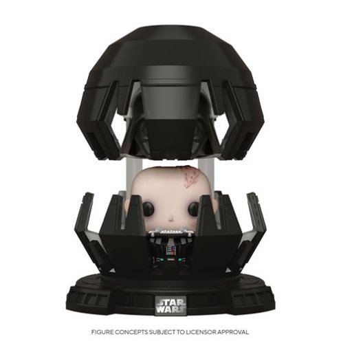 Star Wars Empire Strikes Back Darth Vader in Meditation Deluxe Pop Vinyl Figure