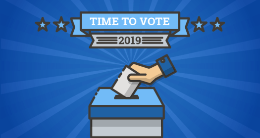 Time to Vote graphic
