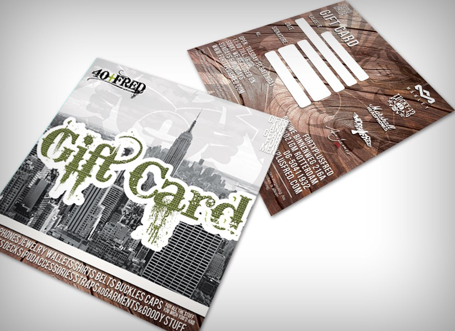 FortyPlusFred – Giftcard