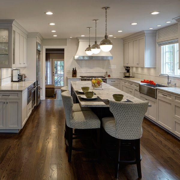 Genial L Shaped Kitchen Design Perfected U2013 Hinsdale, IL