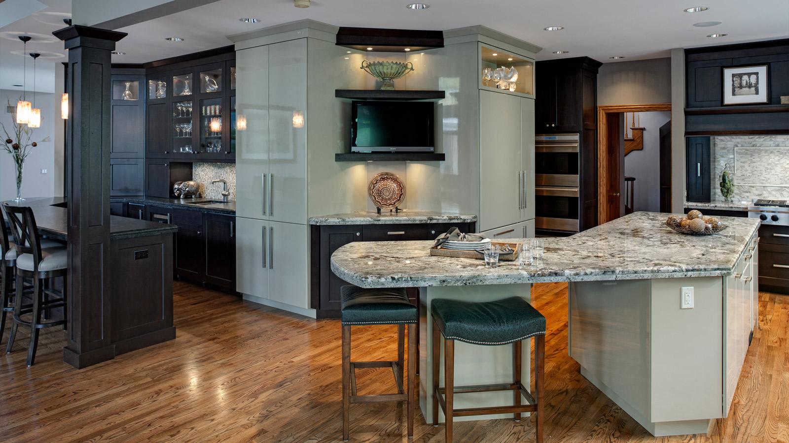 award-winning glen ellyn kitchen in transition - drury design