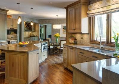Chic Rustic Kitchen – Oak Brook, IL