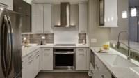 Contemporary Chic Condo Kitchen - Drury Design