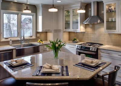 Cozy Transitional Kitchen Remodel