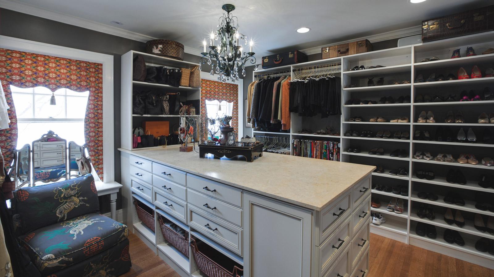 Custom Walk In Closet Remodel Drury Design