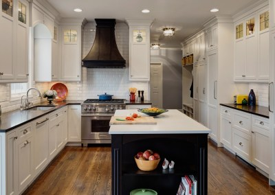 Not-So-Traditional White Kitchen