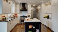 Not-So-Traditional White Kitchen - Drury Design