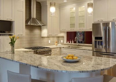 Open-Concept Kitchen and Family Room Combo