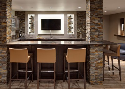 Rec Room Re-imagined – Basement Remodel