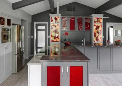 Vibrant Contemporary Kitchen Design – Wheaton