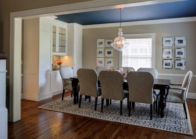 A Dining Room Remodel Perfect for a Large Family