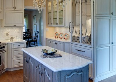 Traditional Kitchen with Modern Conveniences