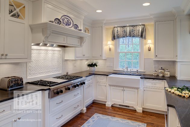 Hinsdale Kitchen Awarded Honors Traditional Design | Drury Design Chicago