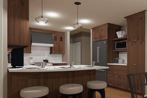Artistic 3D Drawings Bring Your Remodeling Ideas Home