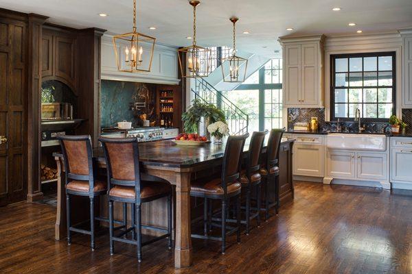 Elements of transitional kitchen design drury design for Select kitchen design columbus ohio