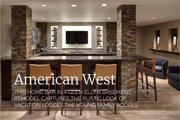 Basement Remodel Featured in Naperville Magazine