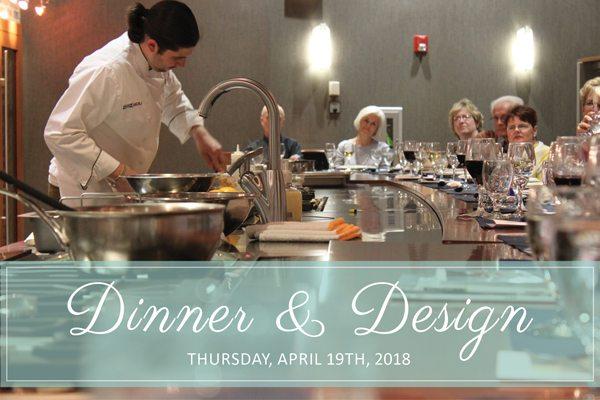 Dinner & Design Wolf Demo Event April 19th 2018