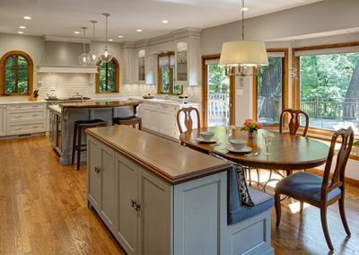 Traditional Kitchen with a Fresh Flair
