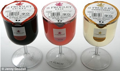 Le Froglet Plastic Wine Glass