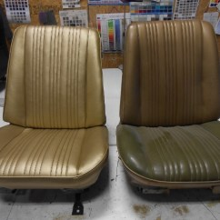Vinyl Chair Repair Hanging Design Leather And Refinishing Dr Of Omaha Seat