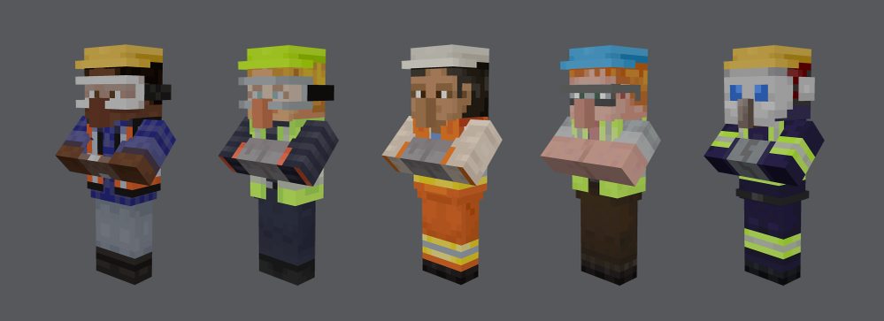 M365 - Minecraft - New Skins- M365 Blog.png
