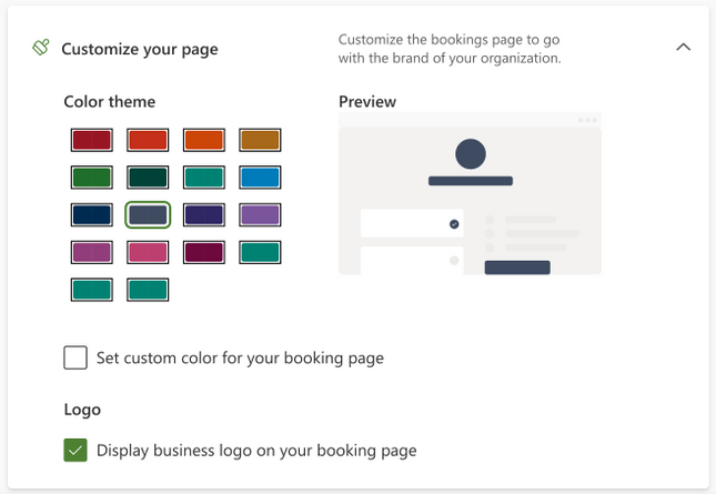 Image showing the new theming options