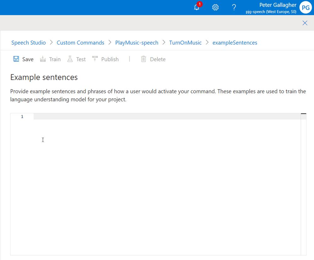 SpeechStudio-ExampleSentences