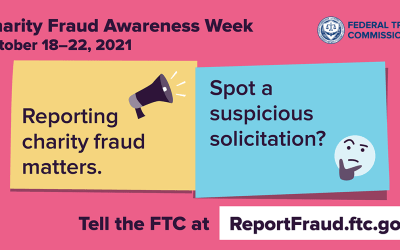 This week the focus is on charity scams