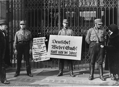 Nazi Boycott .