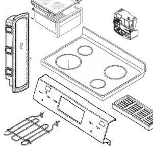 OEM Lg AFG73029704 Washer Lid Assembly Genuine Original Equipment Manufacturer Part