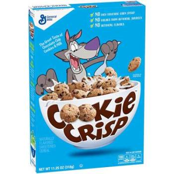General Mills Cereal Cookie Crisp Cho, 318g