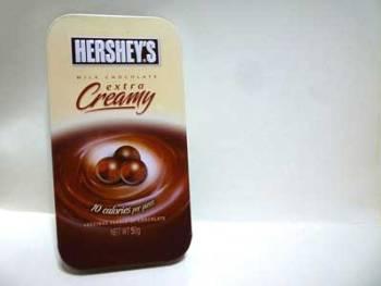 HERSHEY'S Milk Chocolate Extra Creamy 60g Drops