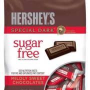 Hershey's Special Dark Chocolate Bars, Sugar Free, 85G