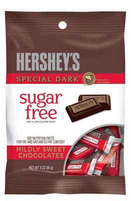 Hershey's Special Dark Chocolate Bars, Sugar Free, 85G