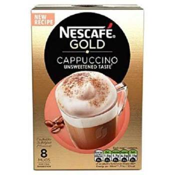 Nescafe Cafe Menu Cappuccino Unsweetened, 165g (Pack of 10)