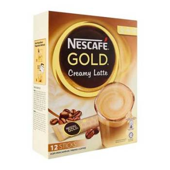 Nescafe Gold Creamy Latte 12 Sticks* 33g, 396g