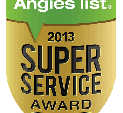 FOUNDATION SYSTEMS OF MICHIGAN EARNS ESTEEMED 2013 ANGIE'S LIST SUPER SERVICE AWARD