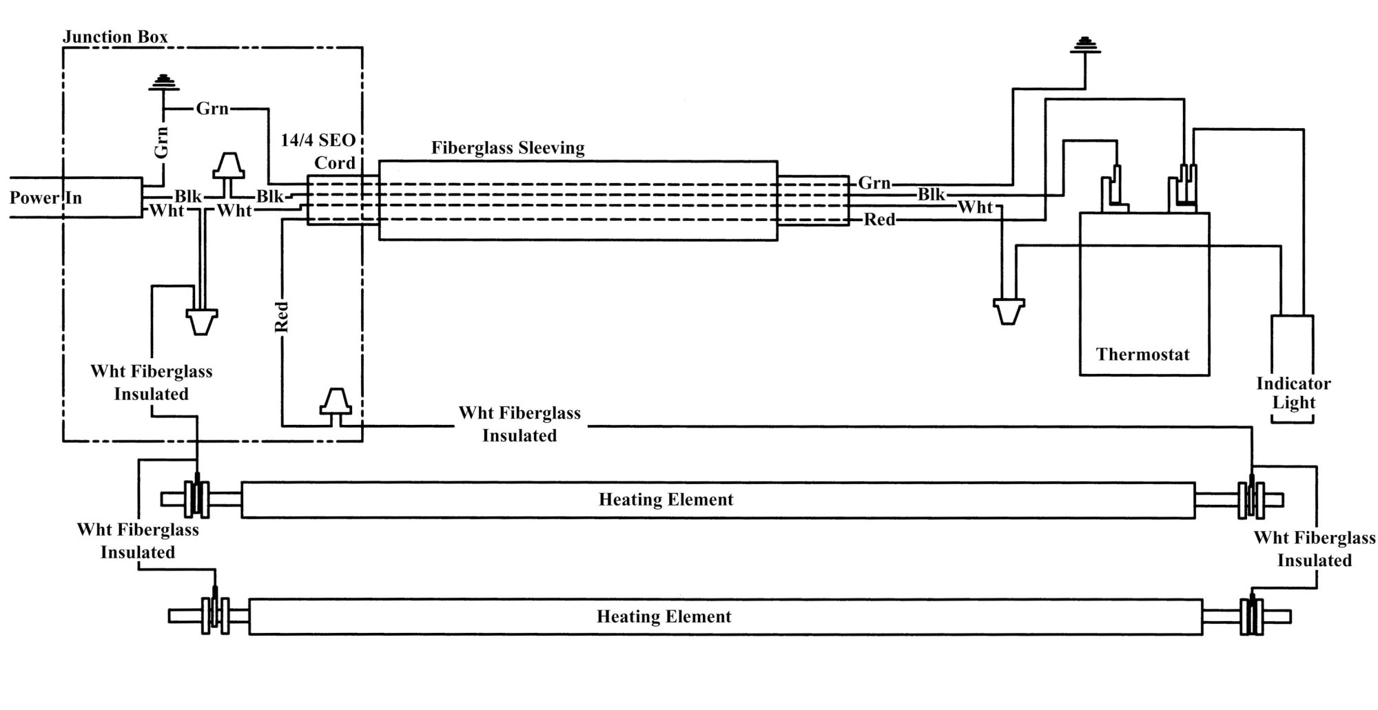 hight resolution of type 24 240v wiring diagram