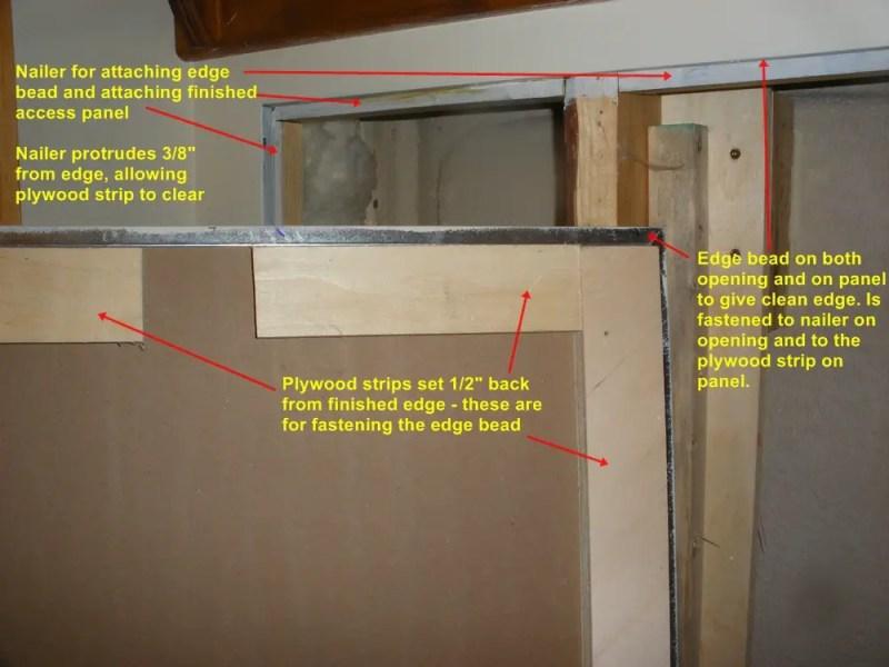 Drywall Ceiling Access Panels Diy Integralbook Com