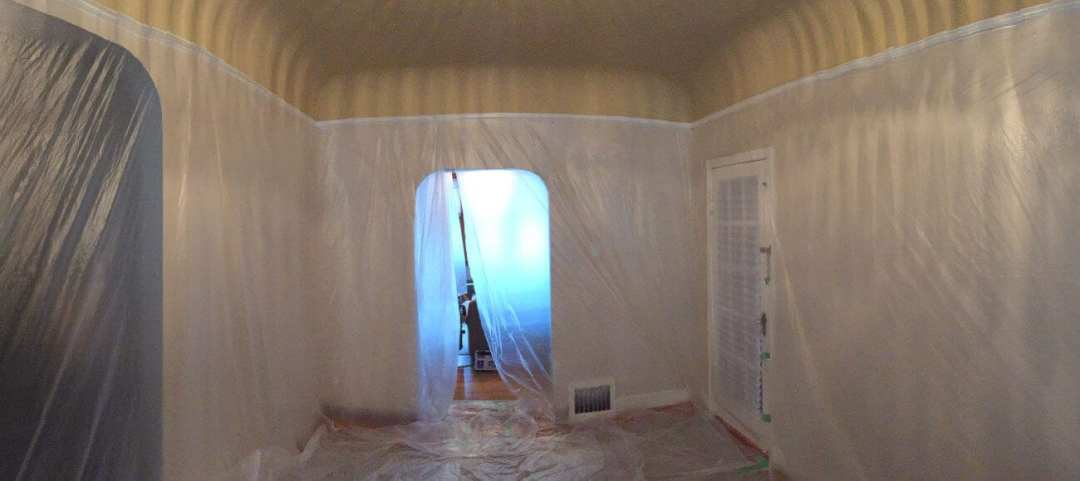 dust control ceiling repair